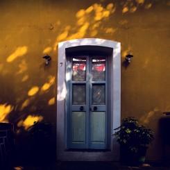 Lavender Door-Canvas