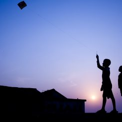 Kite Flying-Canvas-Front