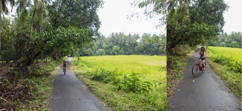 Goa-Olaulim Backyards-Cycling