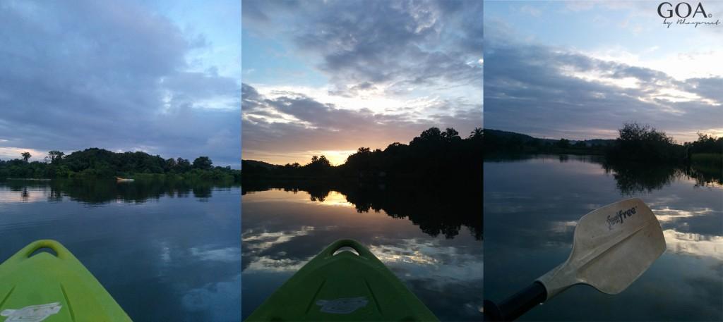Goa-Olaulim Backyards-Kayaking